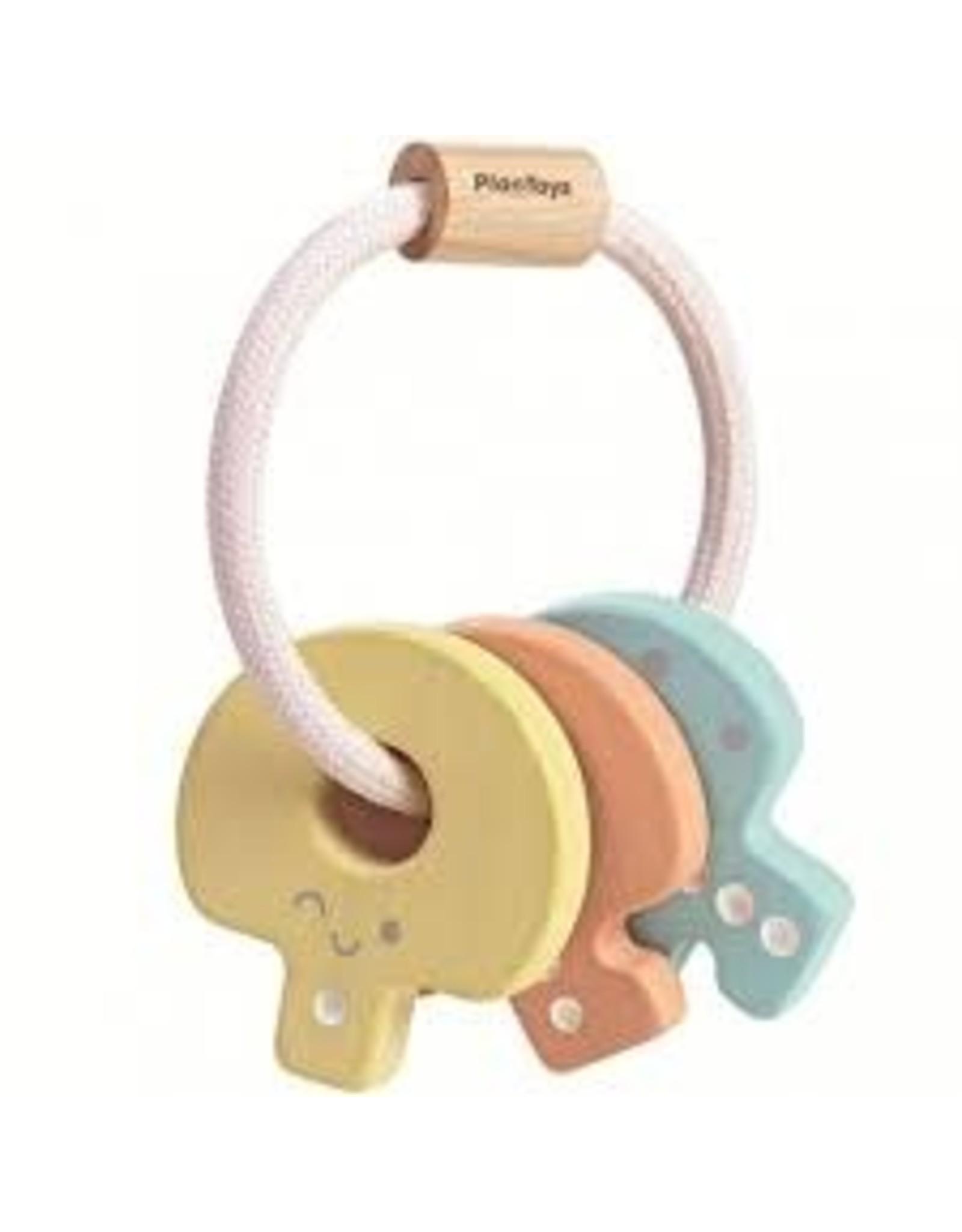 Plan Toys Clés - pastel