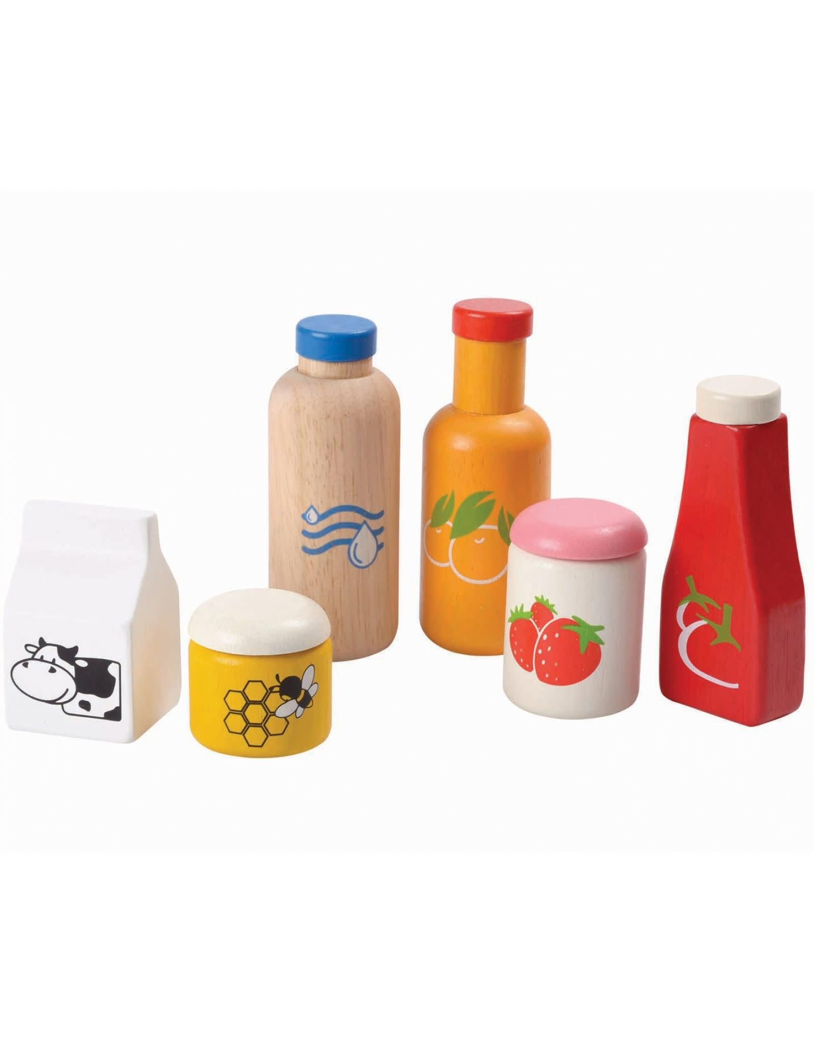Plan Toys Set aliments et boissons