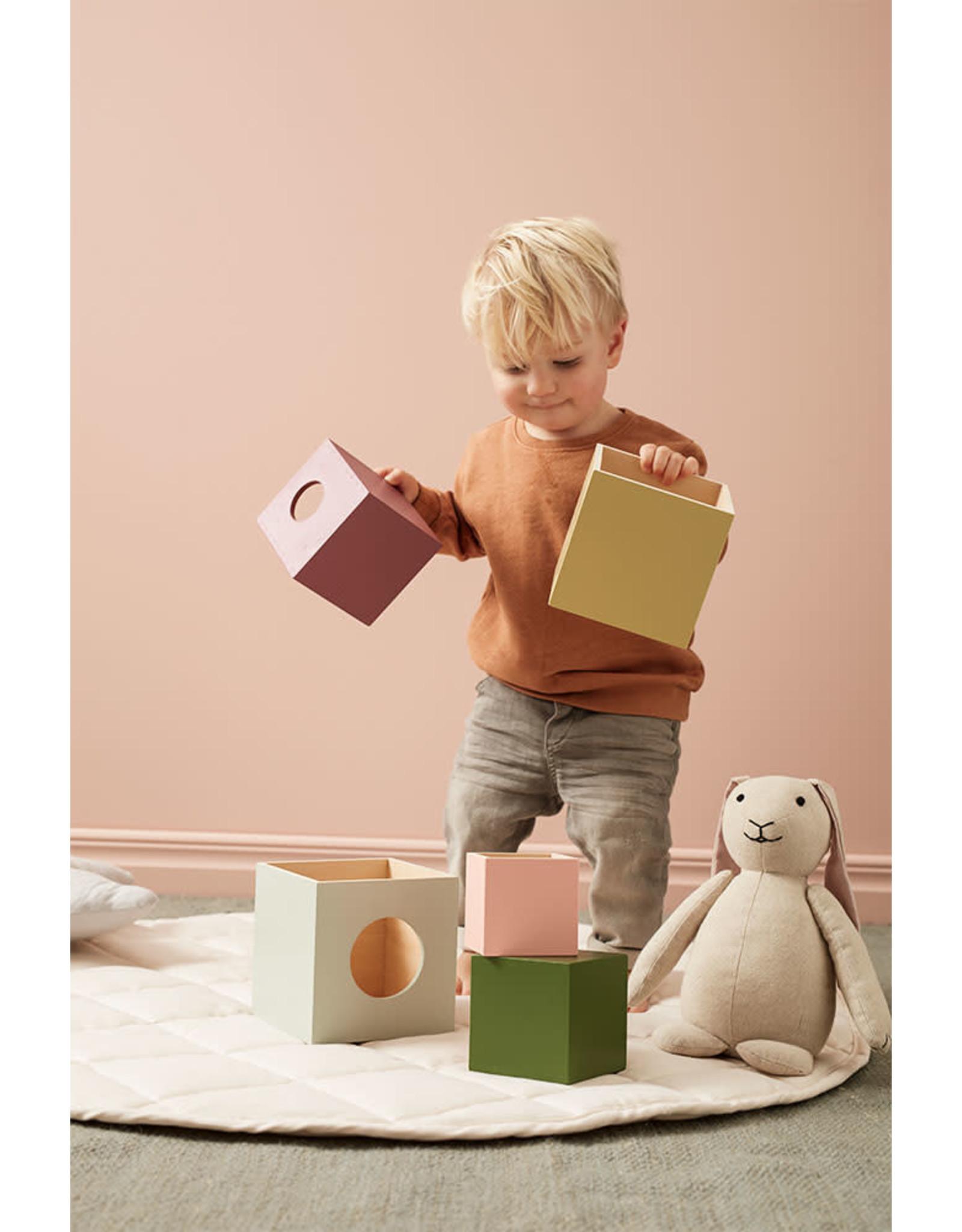 Kids Concept Cubes en bois Edvin