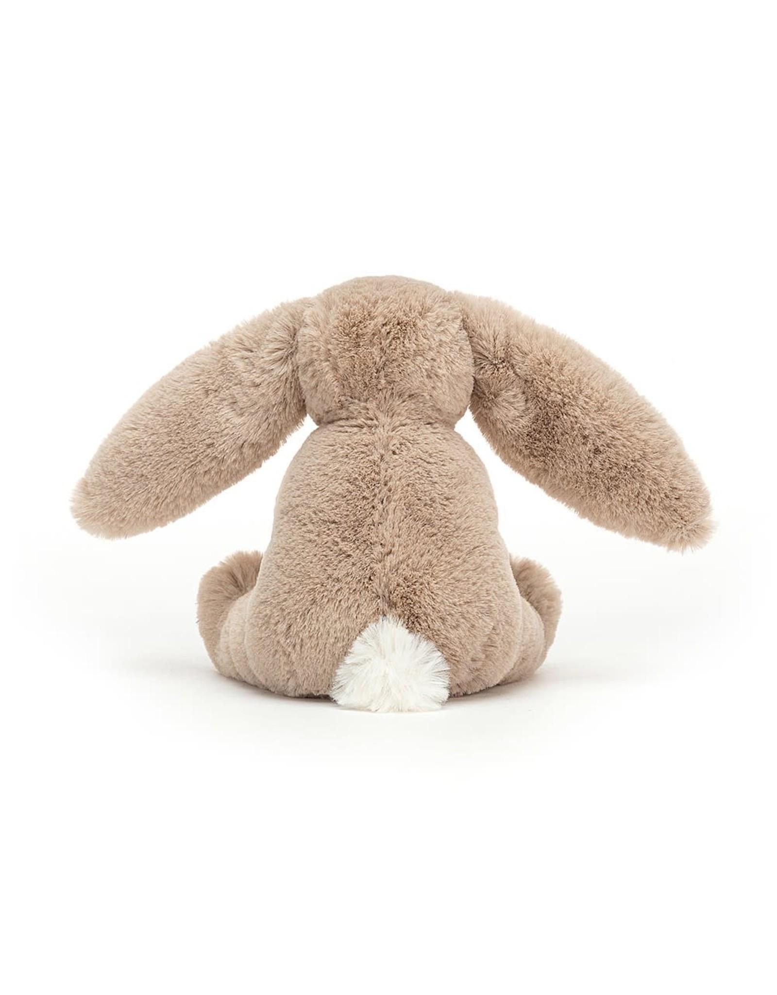 Jellycat Bashful bunny Wooden Ring Beige