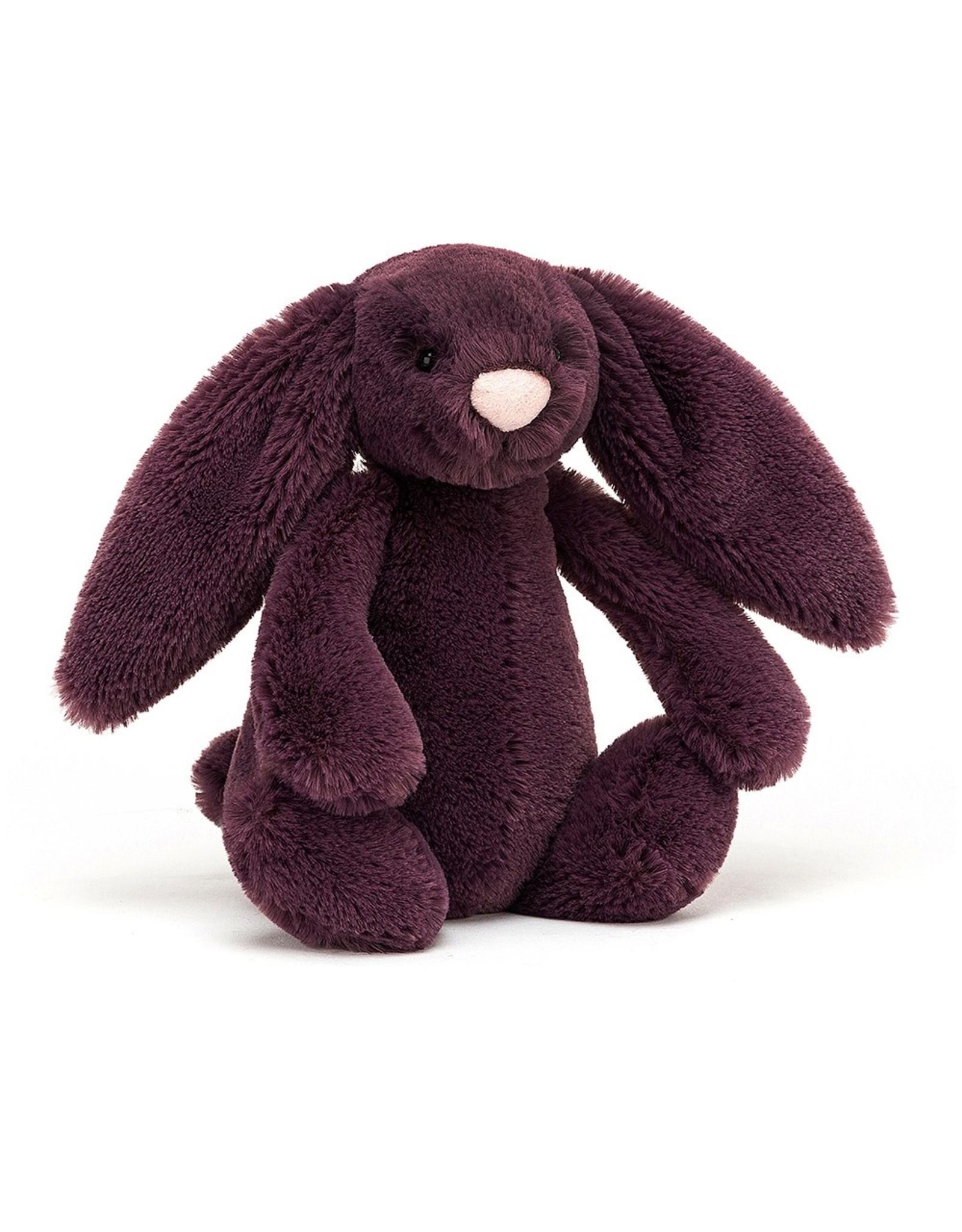 Jellycat Bashful bunny Plum Small