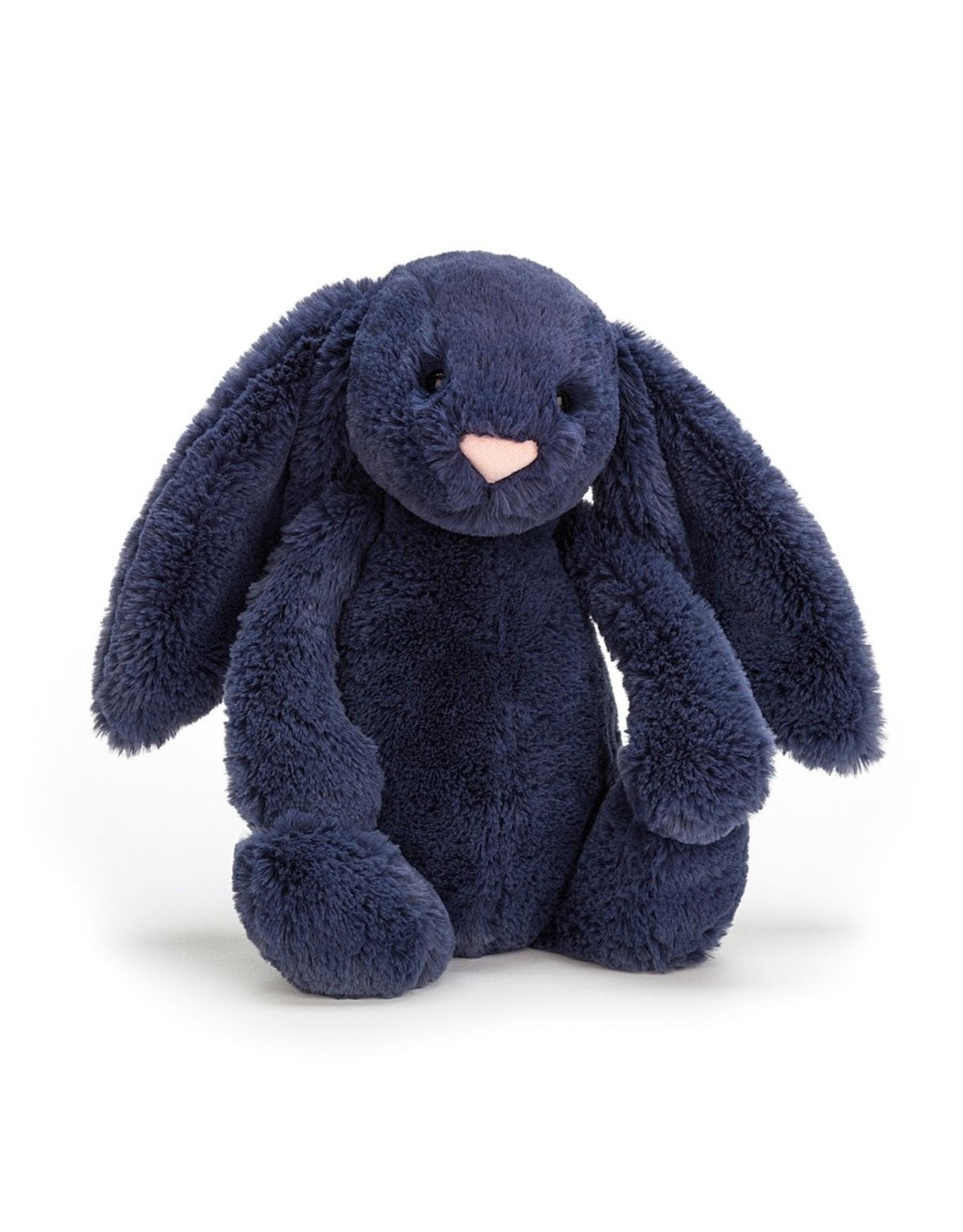 Jellycat Bashful bunny Navy - Medium