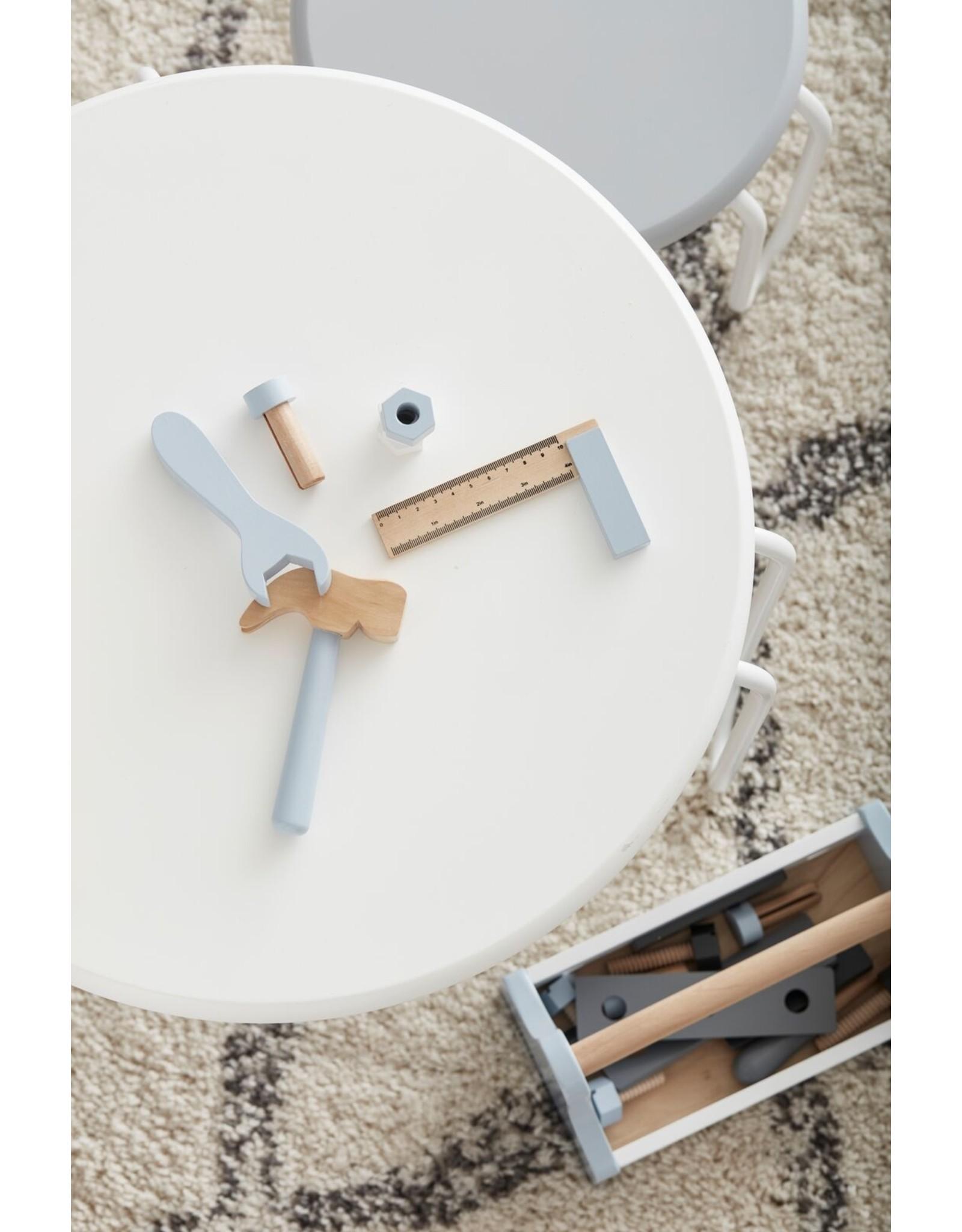 Kids Concept Table Linus blanc