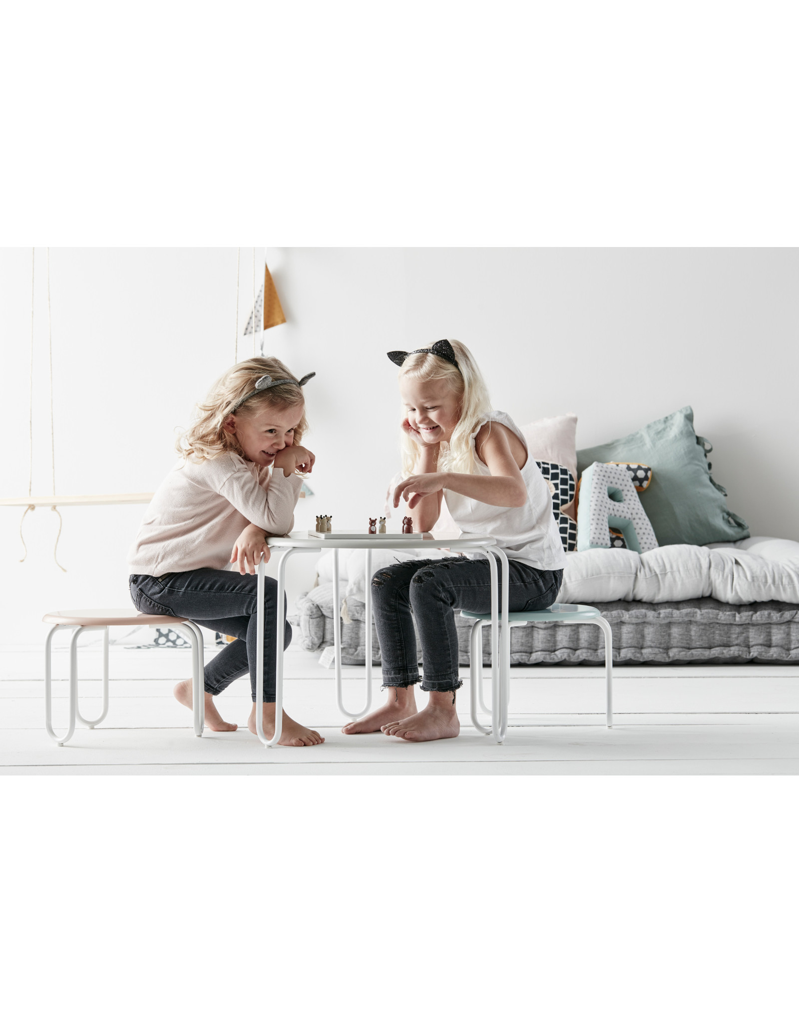 Kids Concept chaise Linus blanc