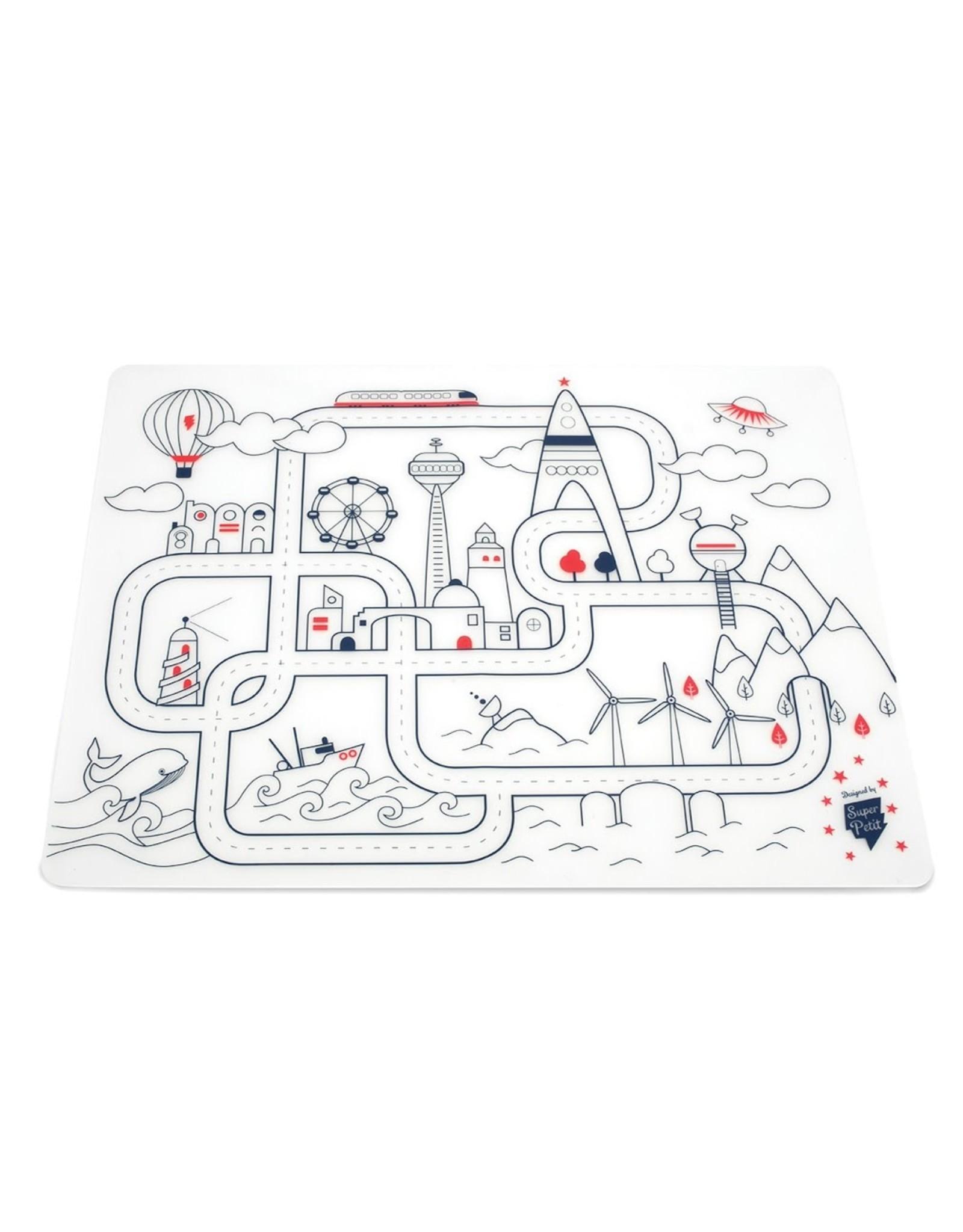 Superpetit Set de table à colorier City
