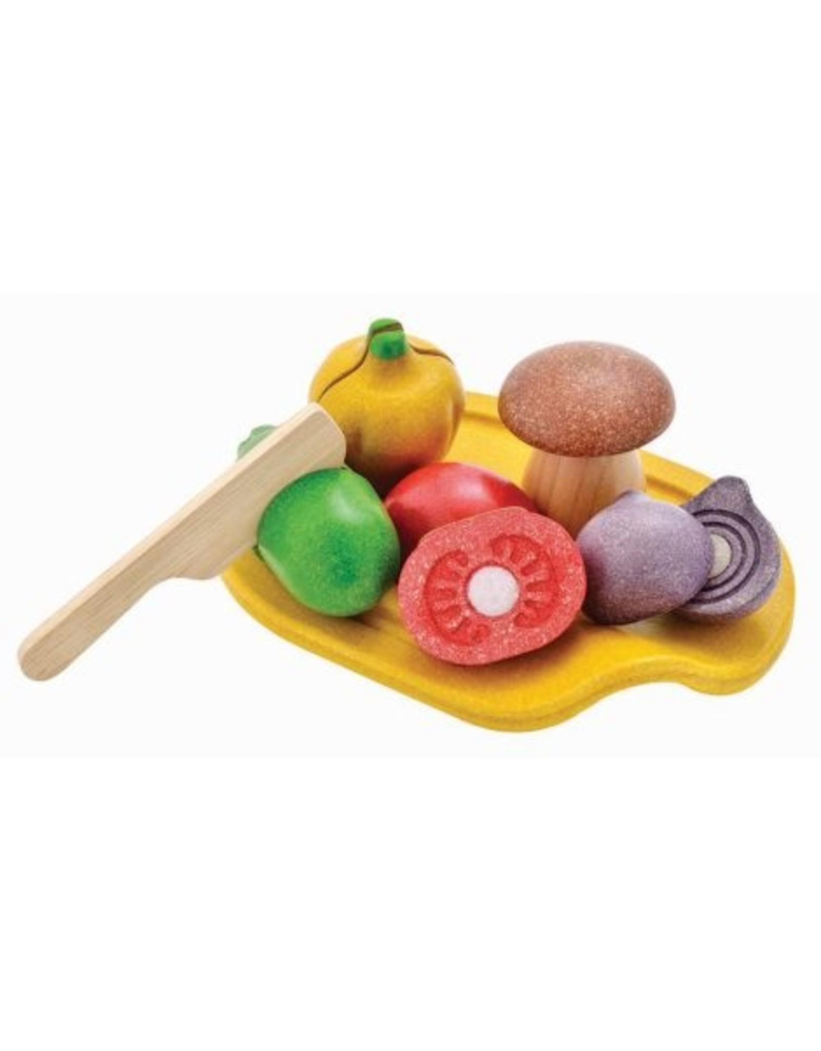 Plan Toys Set légumes à 5 couleurs