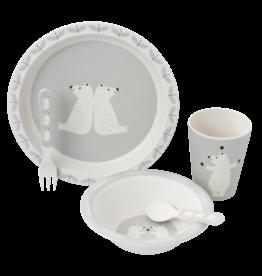 Fresk Dinner Set Polar Bear