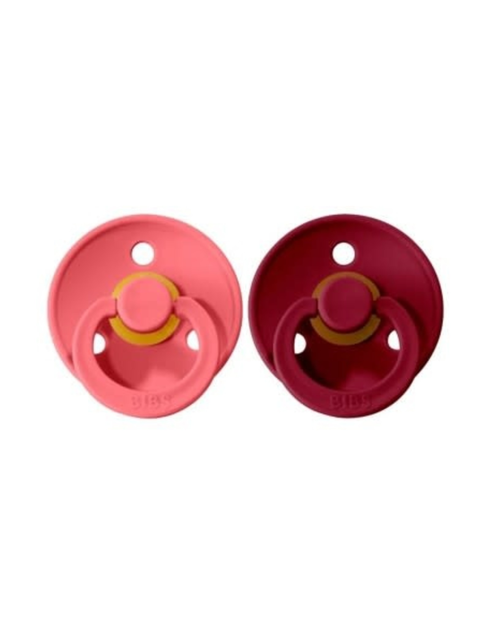 BIBS Tutes -  blister Ruby/Coral T1
