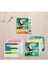 Poppik Mes cartes en stickers - TROPICAL