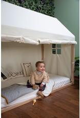 Childhome Bache Lit cabane Blanc 90x200
