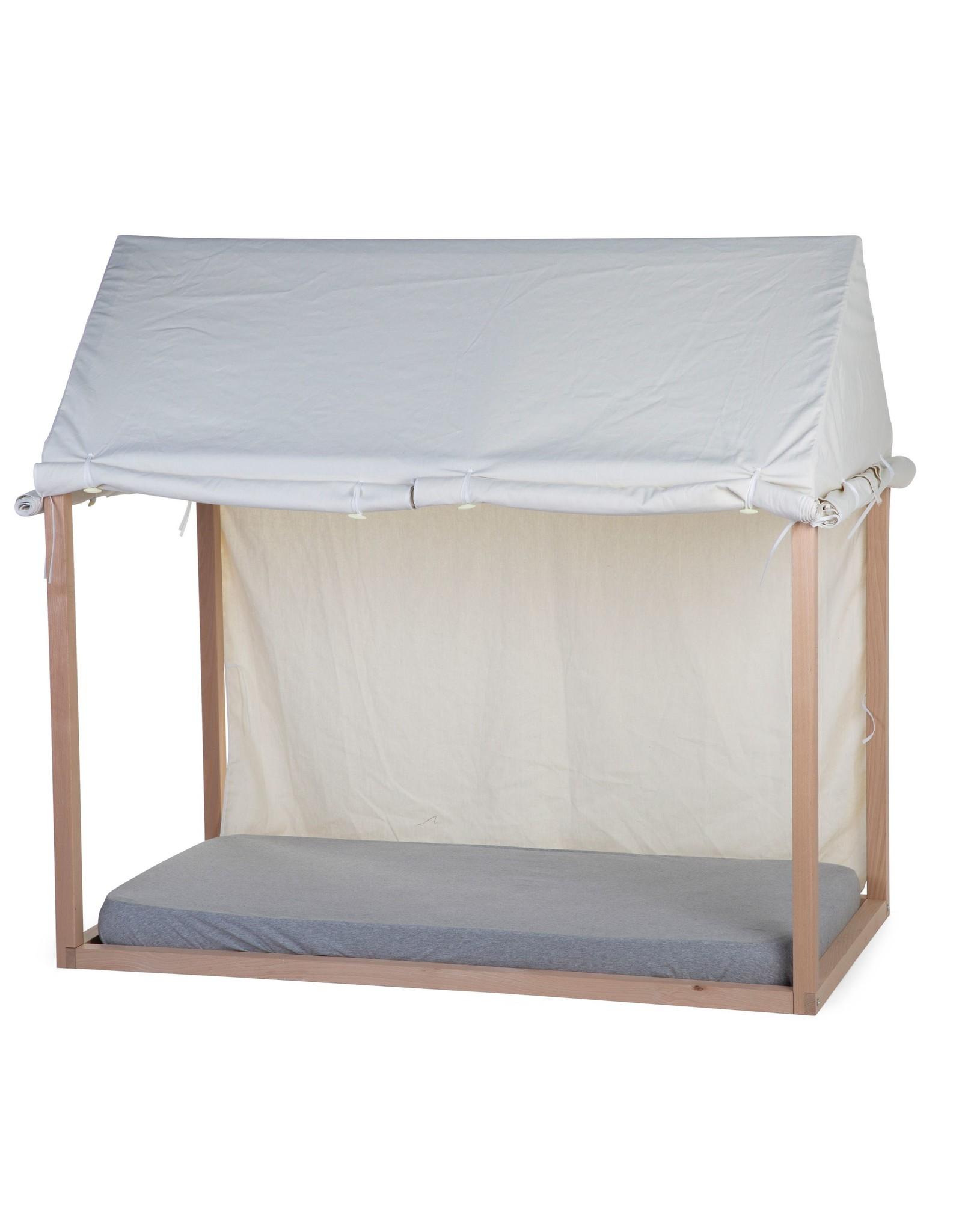 Childhome Bache Lit cabane Blanc 70x140
