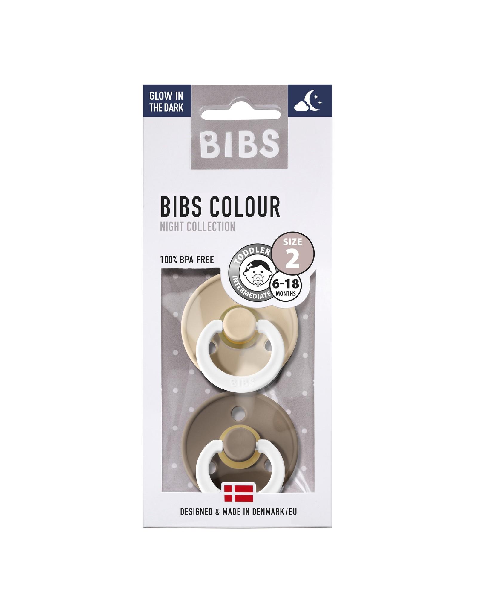 BIBS Tutes -  blister GID | Vanilla  / Dark Oak T2