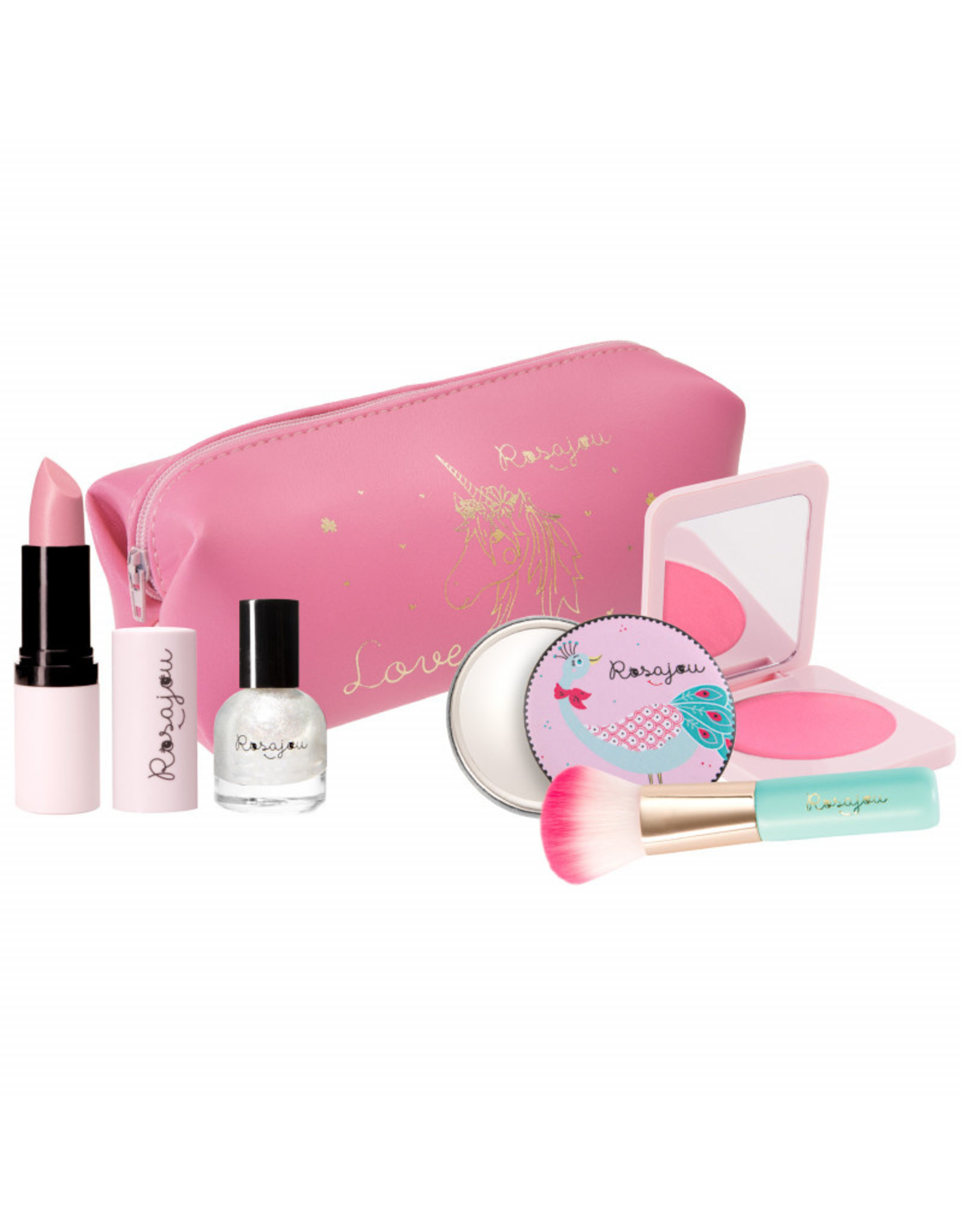 Rosajou Panoplie maquillage Rose
