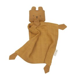 Fabelab Doudou ours en coton bio ocre