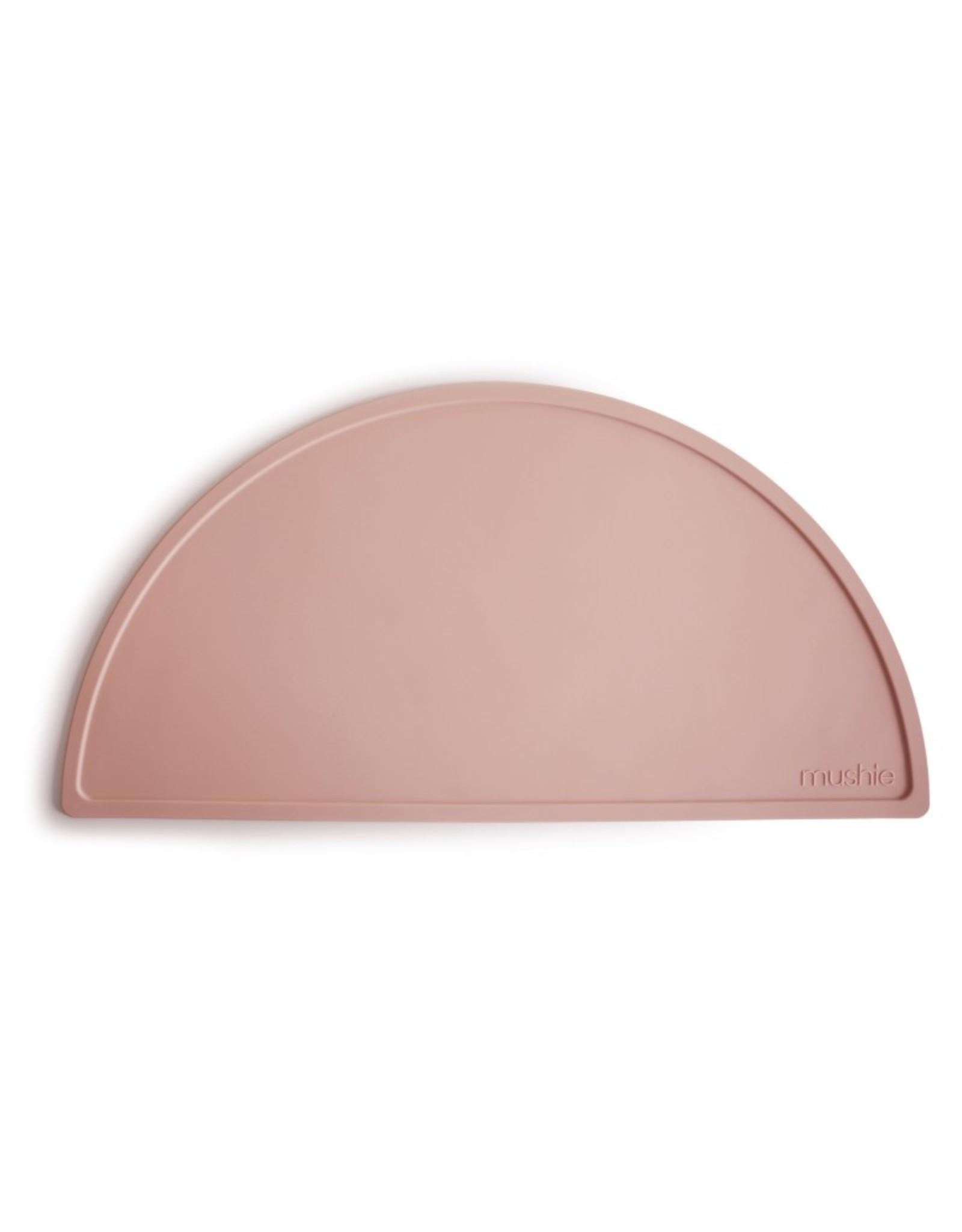 BIBS / mushie Set de table en silicone - blush