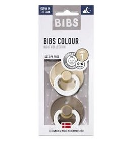 BIBS Tutes -  blister GID | Vanilla  / Dark Oak T1