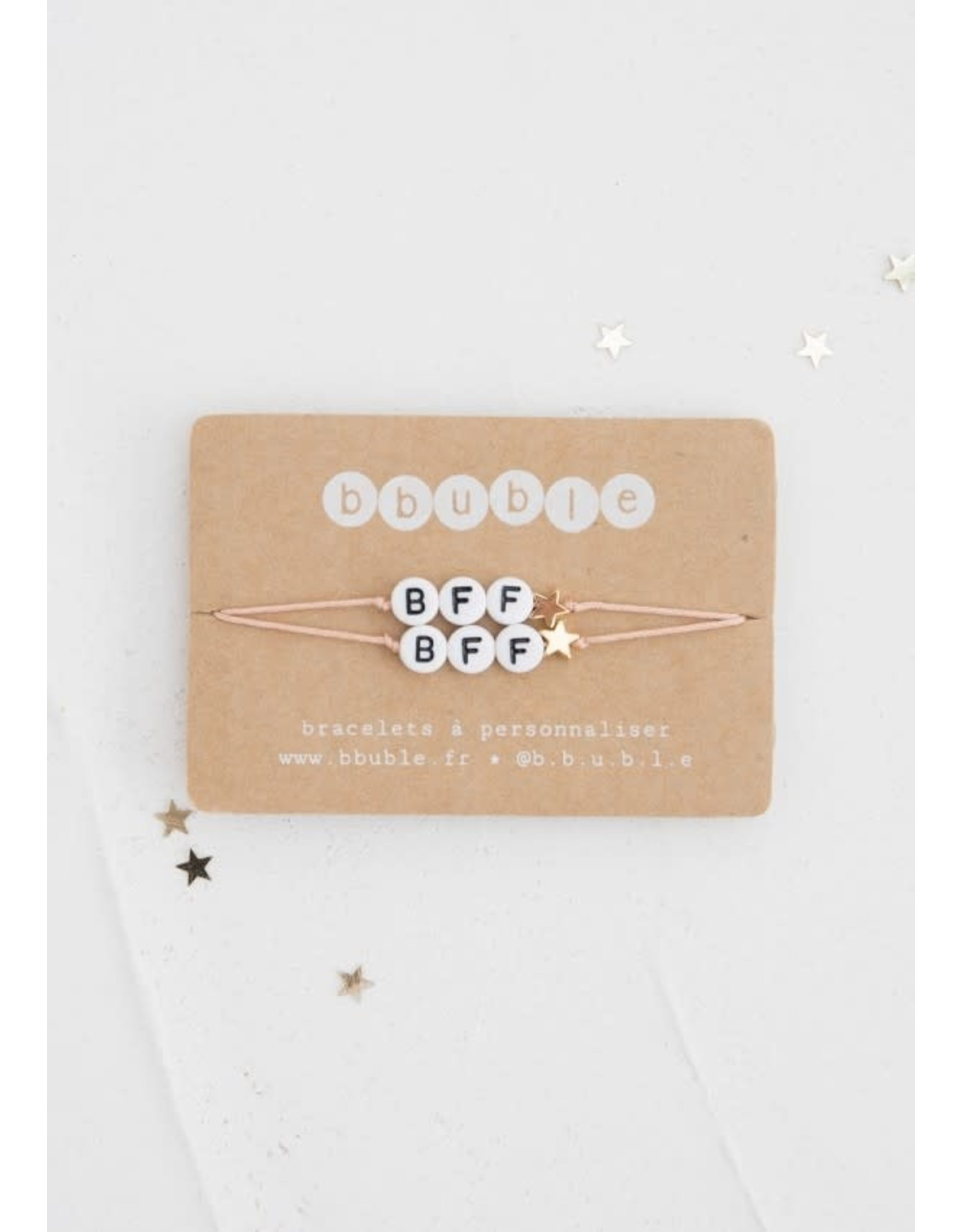 Bbubble Bracelet / blanc / BFF (etoile)