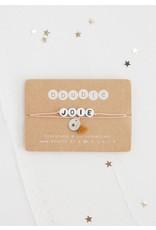 Bbubble Bracelet / blanc / Joie + charm