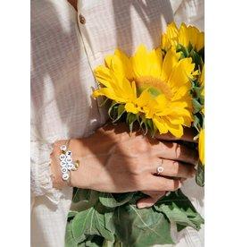 Bbubble Bracelet / blanc / love (coeur) you