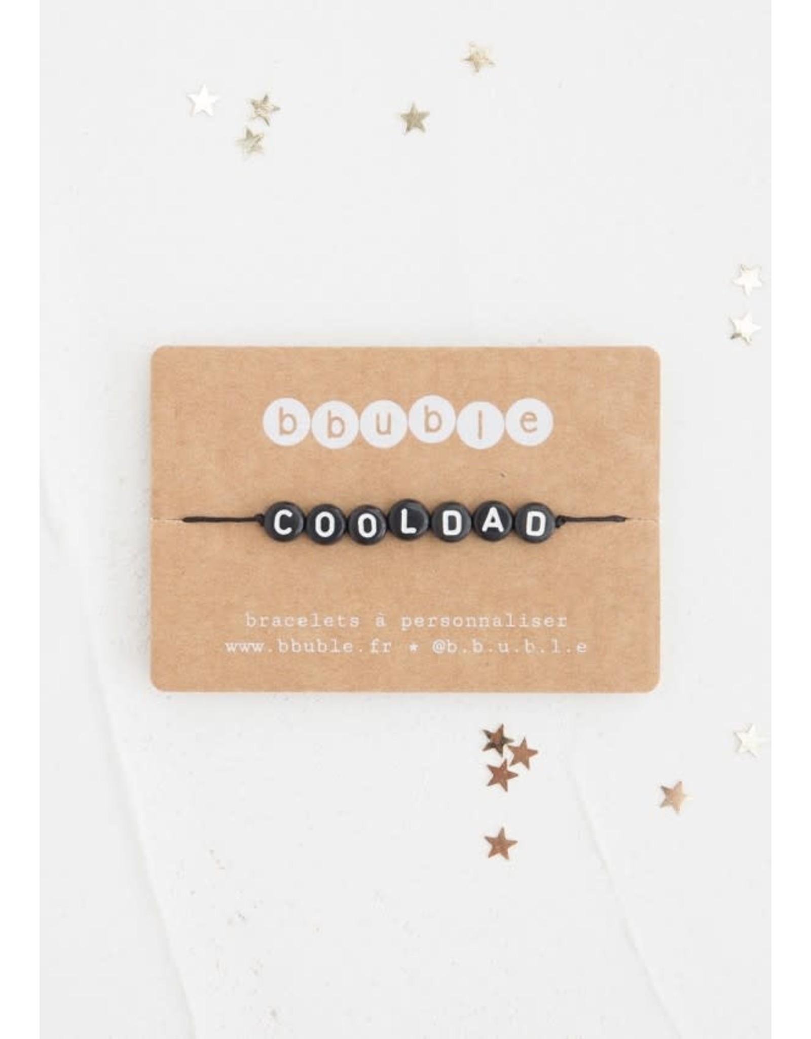 Bbubble Bracelet / noir / Cooldad