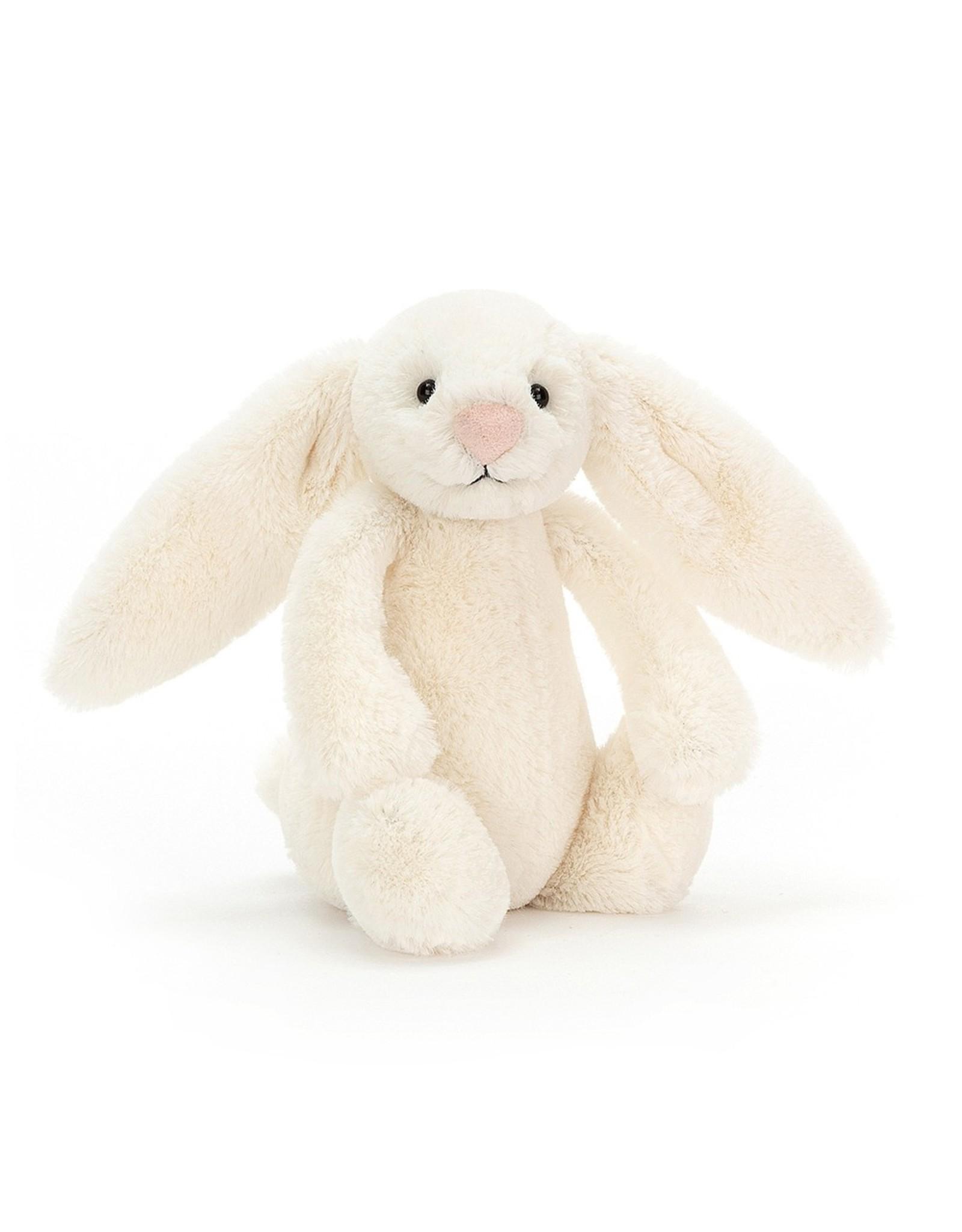 Jellycat Bashful bunny  Cream - Small