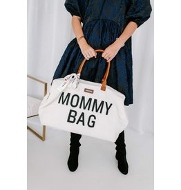 Childhome Mommy bag Teddy off White - PRECOMMANDE