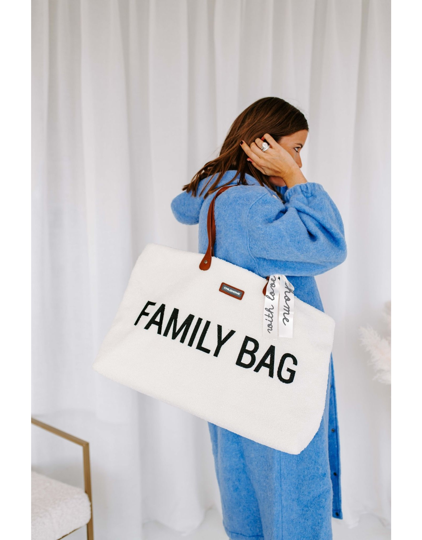 Childhome Family bag Teddy off White