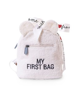 Childhome My first bag Teddy Off White  - PRECOMMANDE