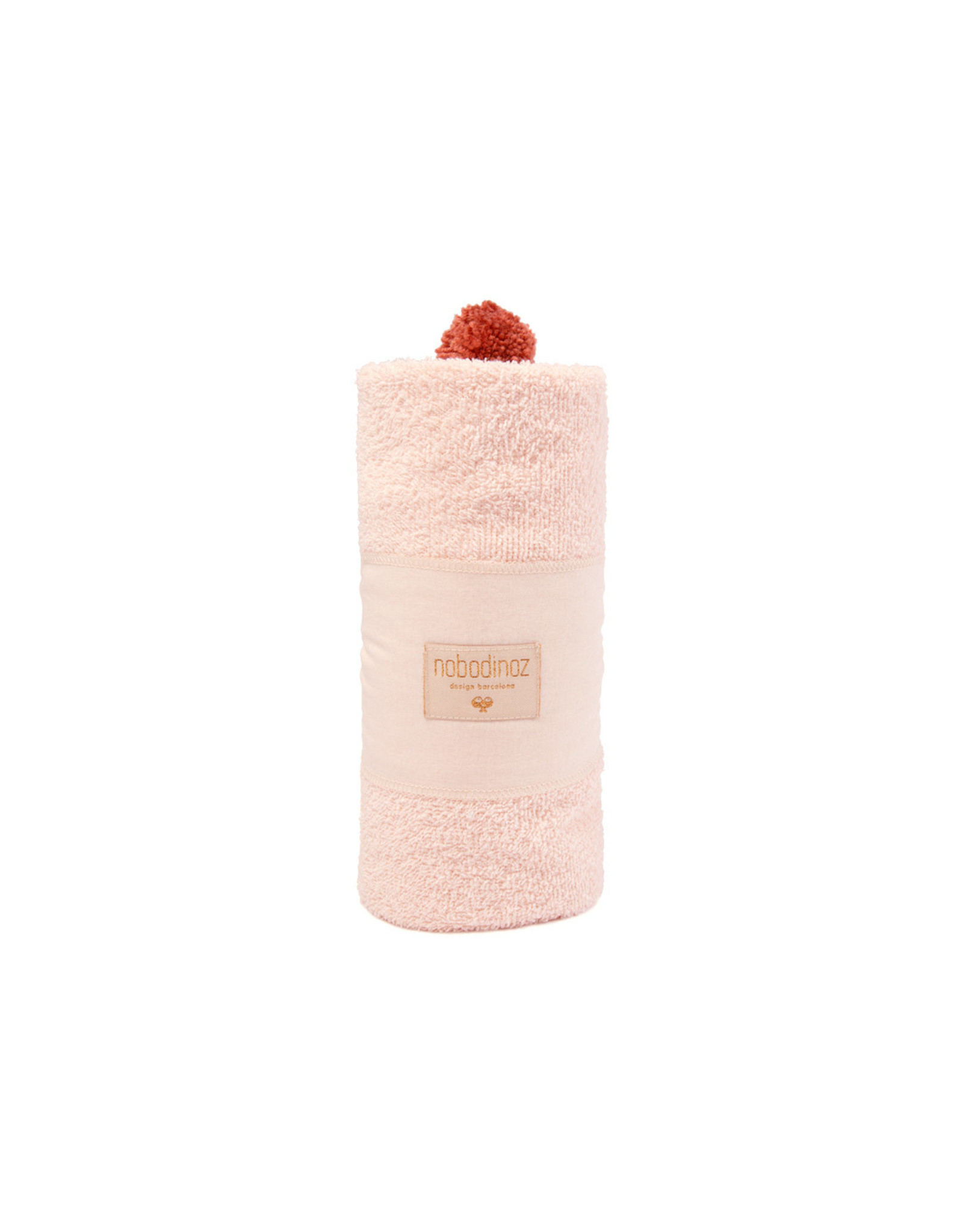 nobodinoz Cape de bain bébé So Cute • Pink