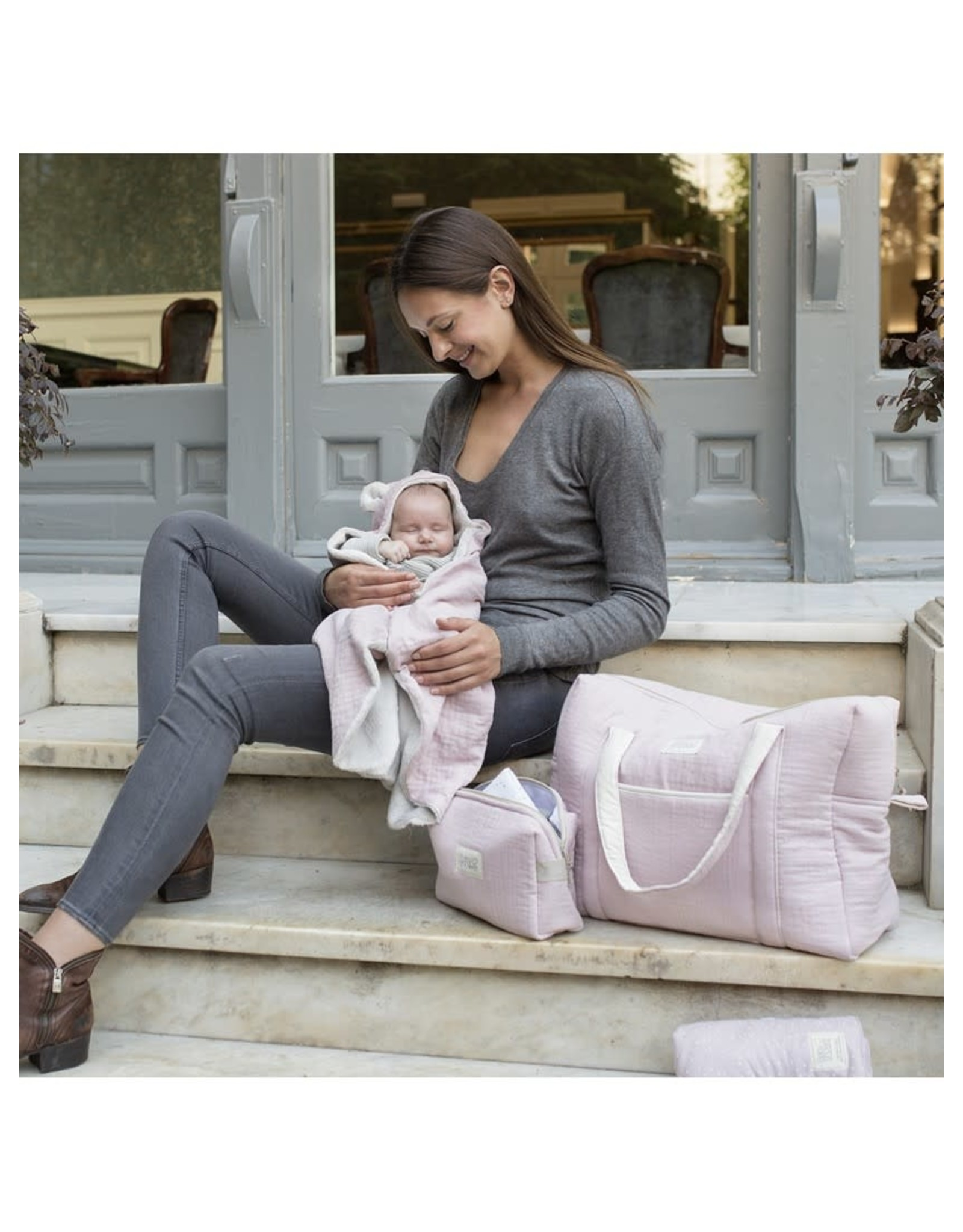 Baby Shower Sac de maternité Camila - Rose