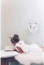 Wild & Soft Tête tigre blanc Albert