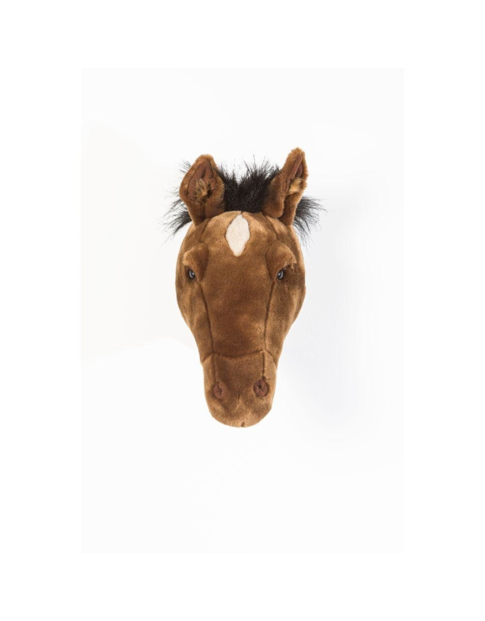 Wild & Soft Tête cheval brun foncé Scarlett