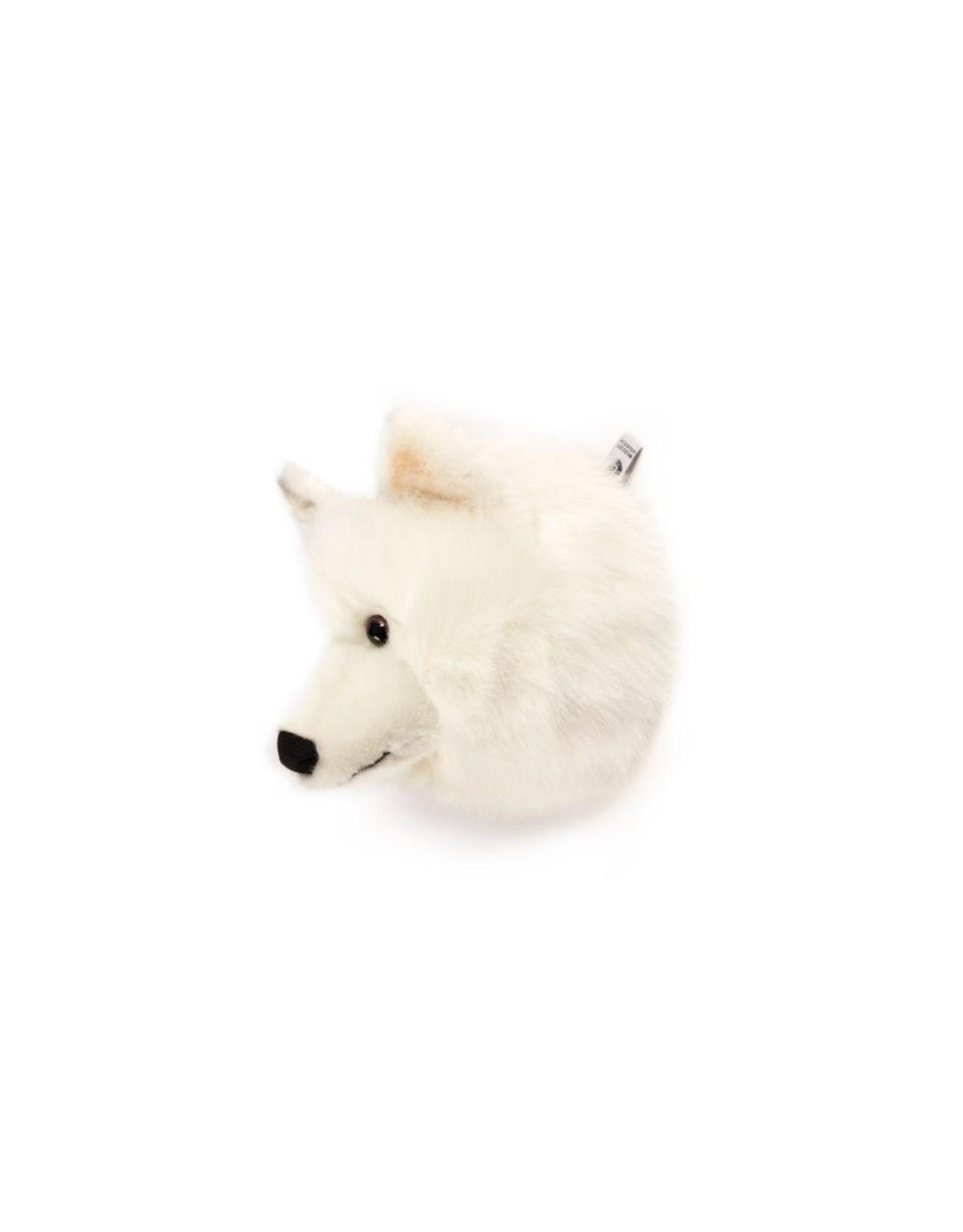 Wild & Soft Tête loup blanc Lucy