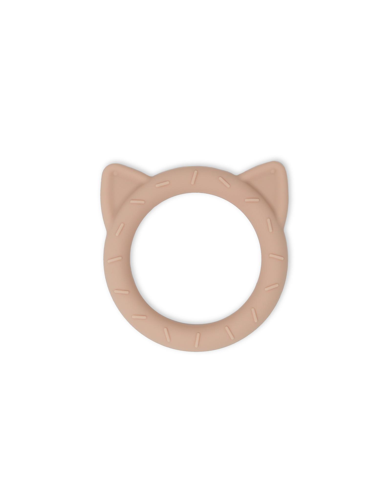 BIBS / mushie Teether  Cat Blush