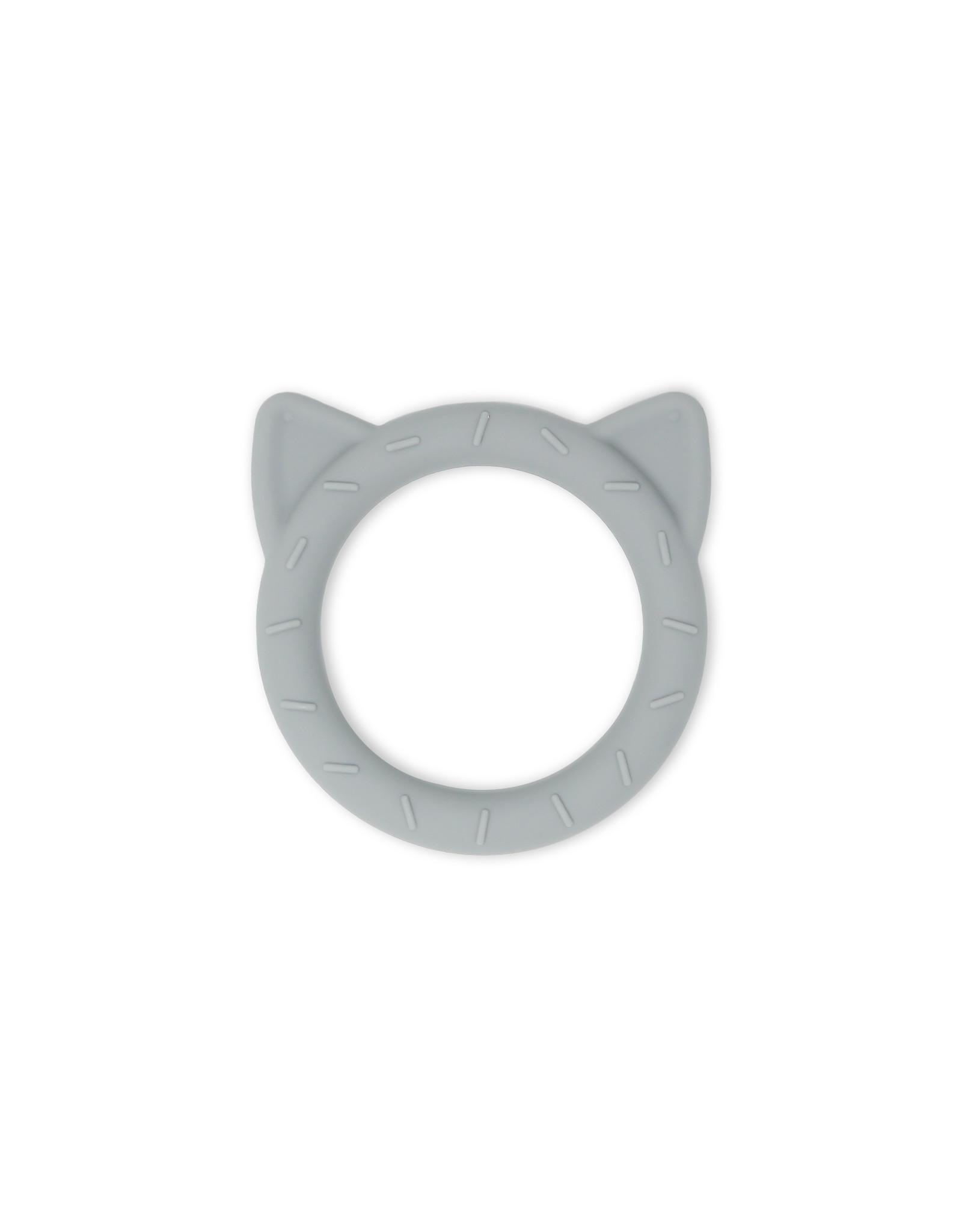 BIBS / mushie Teether  Cat Stone