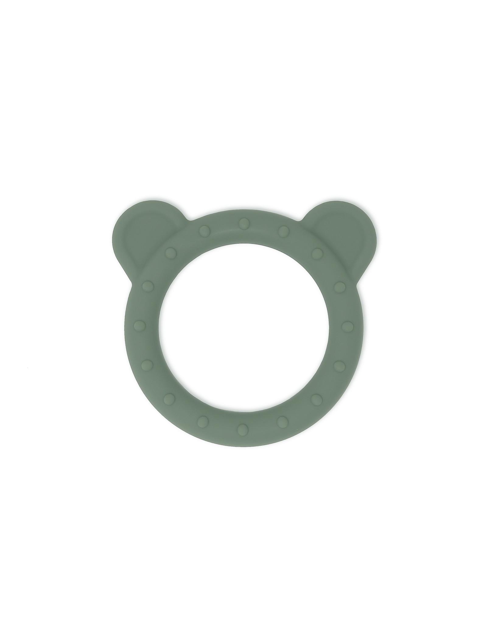 BIBS / mushie Teether  Bear Dried Thyme