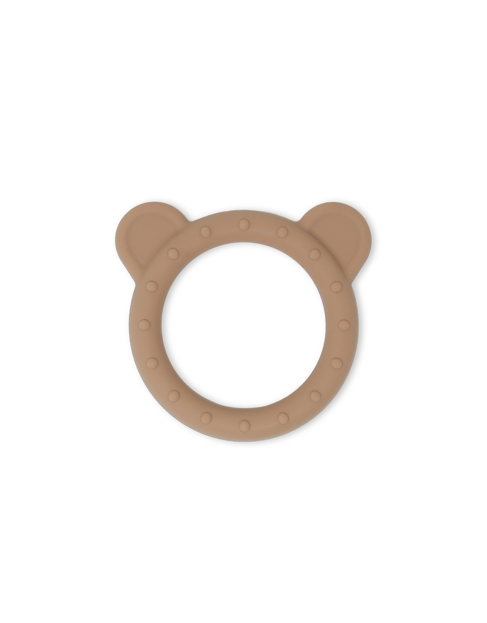 BIBS / mushie Teether  Bear Natural