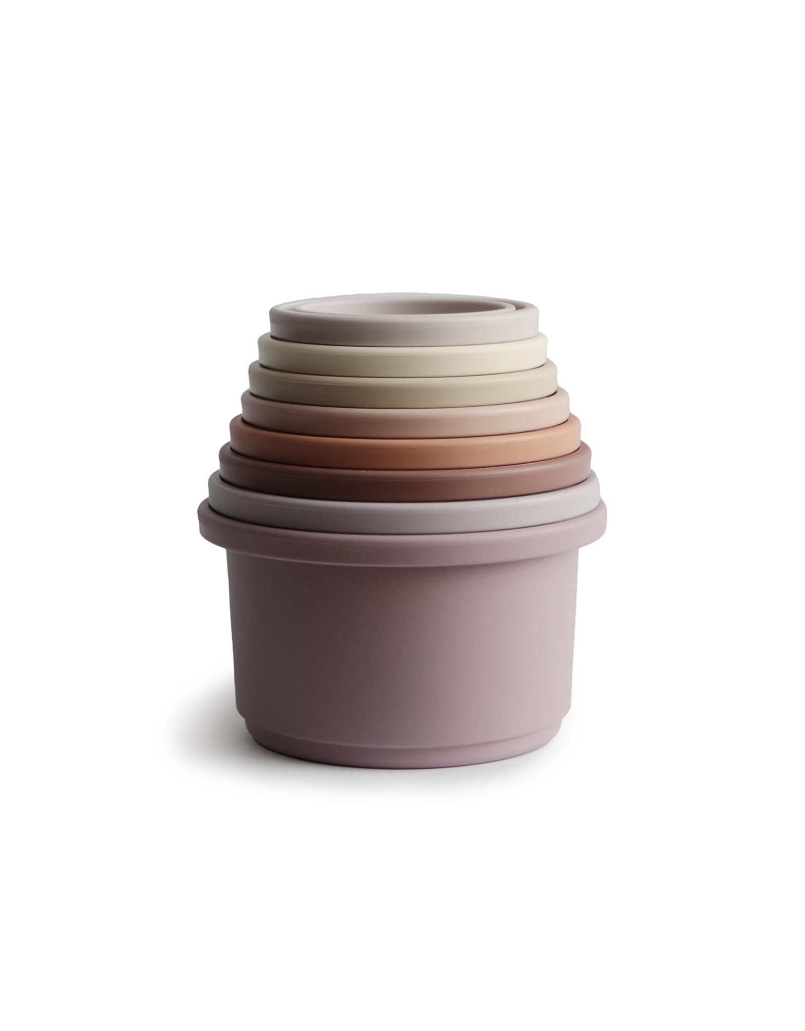 BIBS / mushie Stacking cups empilable Petal