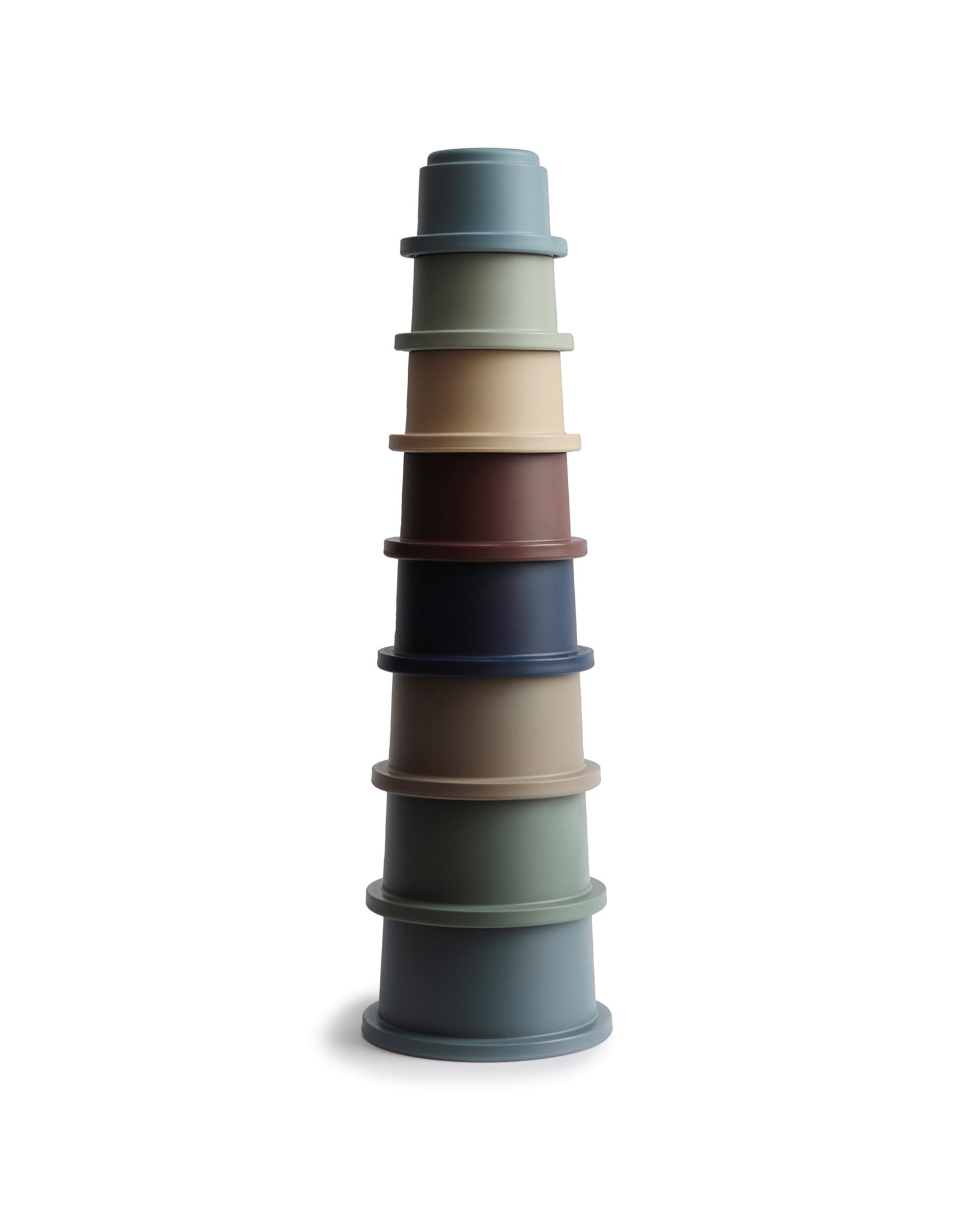 BIBS / mushie Stacking cups empilable Forest