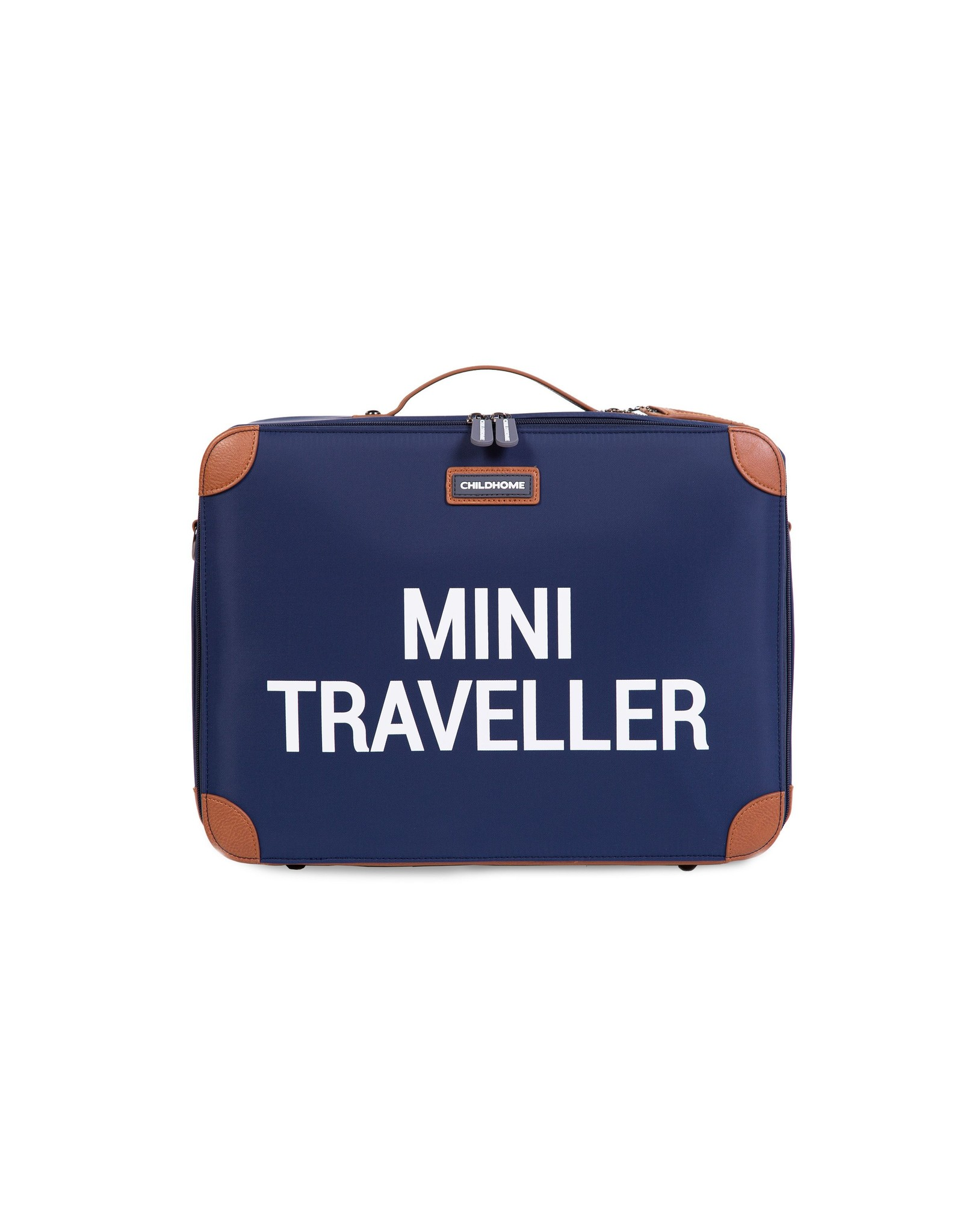 Childhome MINI TRAVELLER VALISE ENFANT - NAVY BLANC