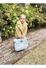 Childhome MINI TRAVELLER VALISE ENFANT - GRIS ECRU