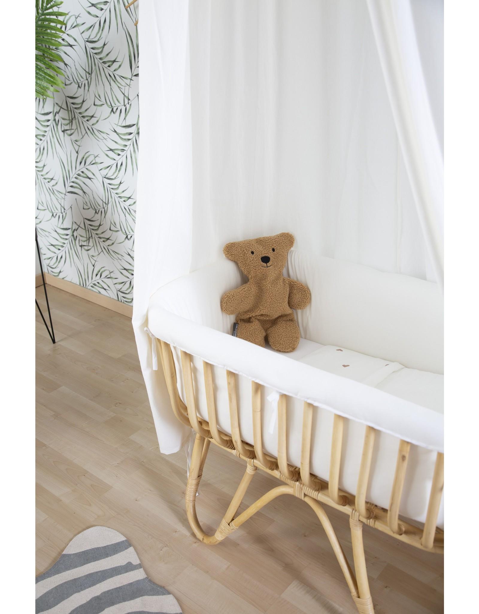 Childhome Ciel de lit suspendu + tapis de jeu