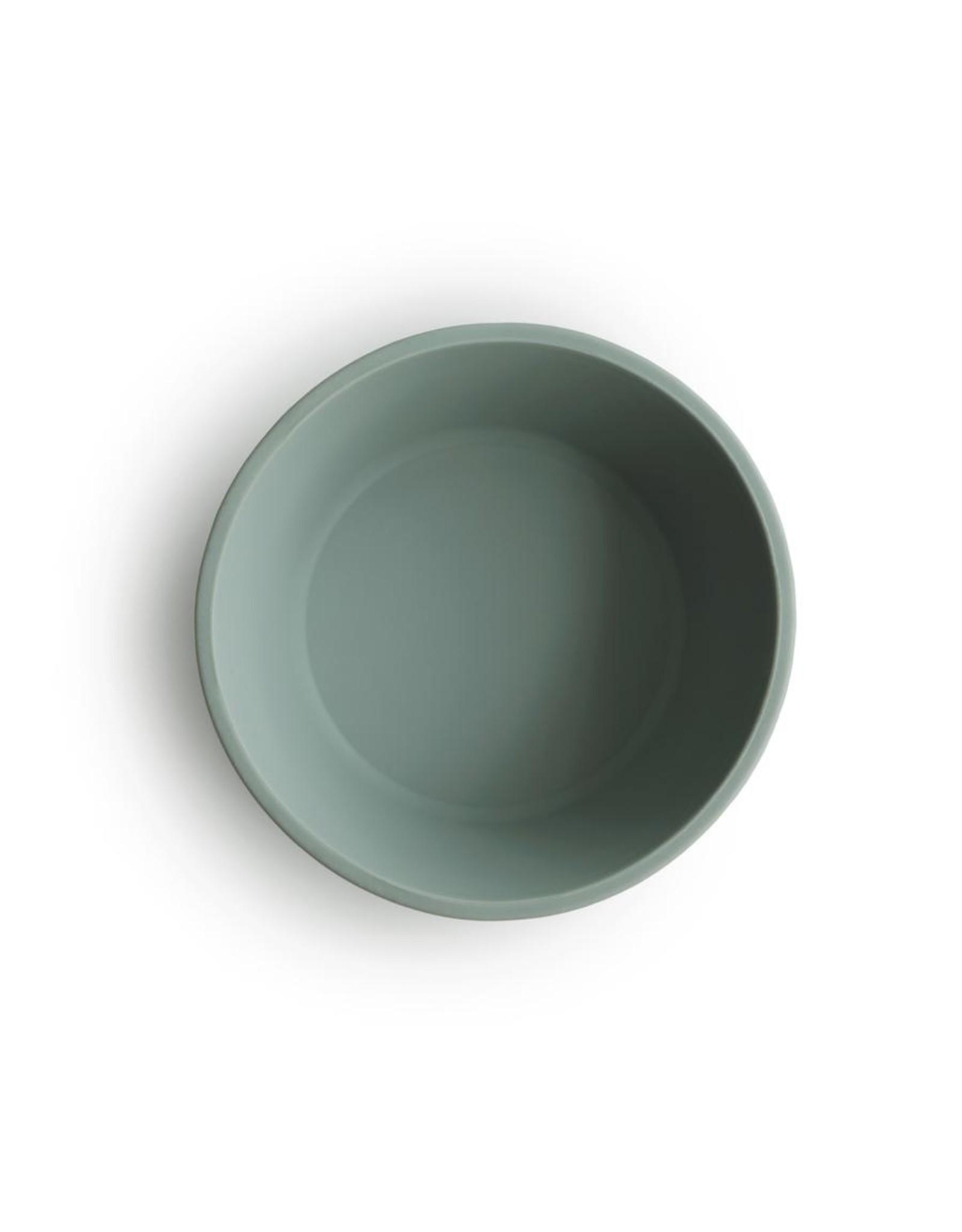 BIBS / mushie Bol en silicone + ventouse - Cambridge Blue