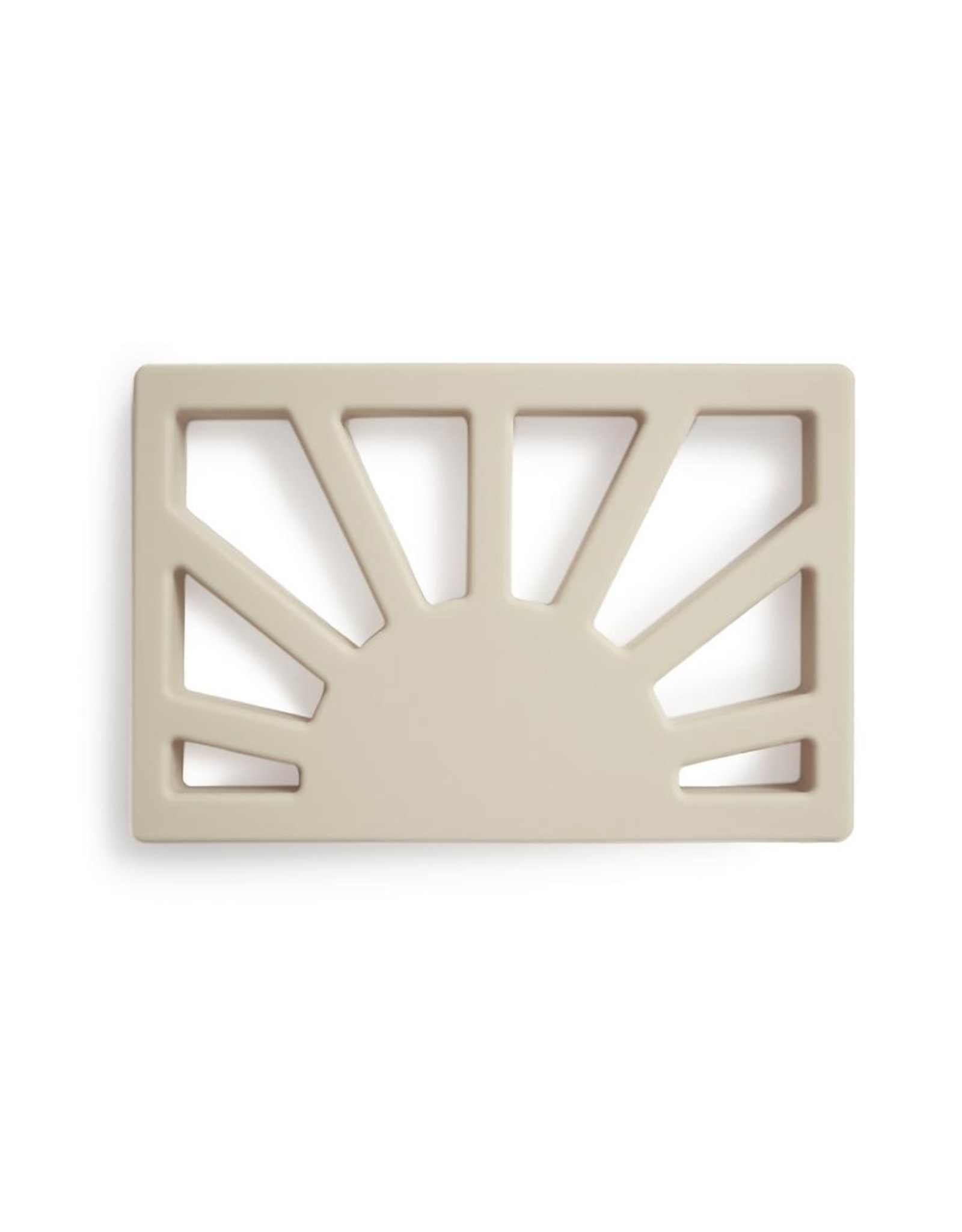 Mushie Silicone Sun teether - Shifting sand