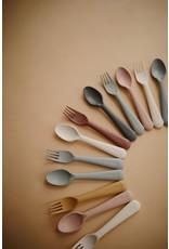 Mushie Couverts Fourchette / Cuillère - Blush