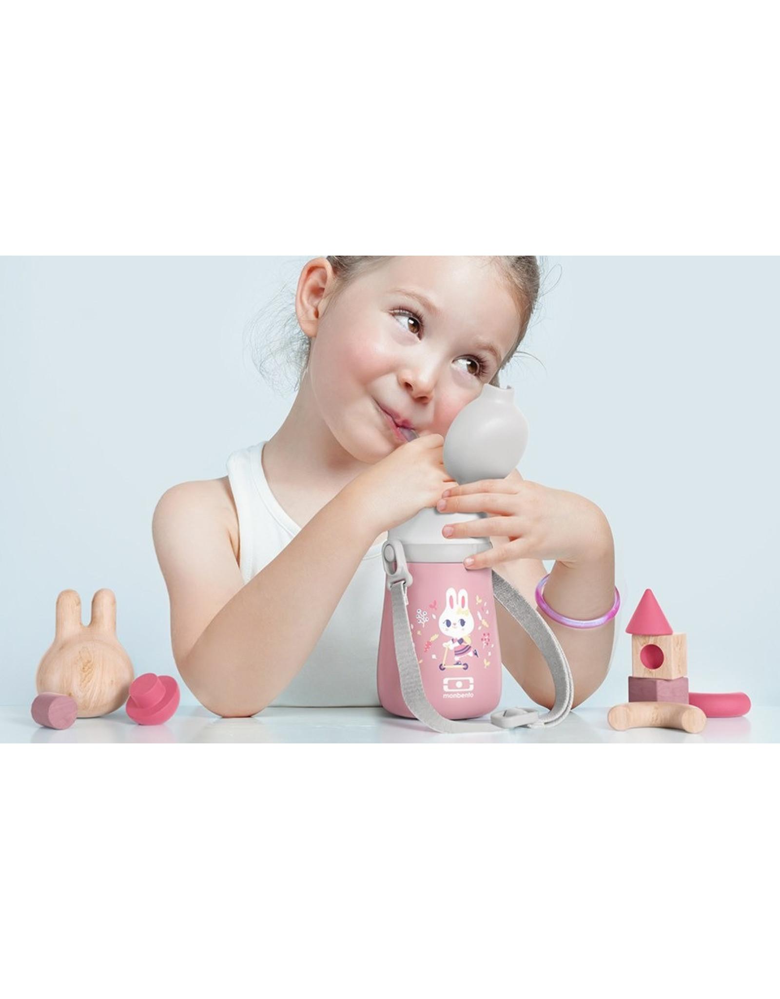 Mon Bento Bouteille isotherme enfant - MB Gram - BUNNY