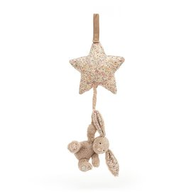 Jellycat Lapin Blossom beige Béa Musical