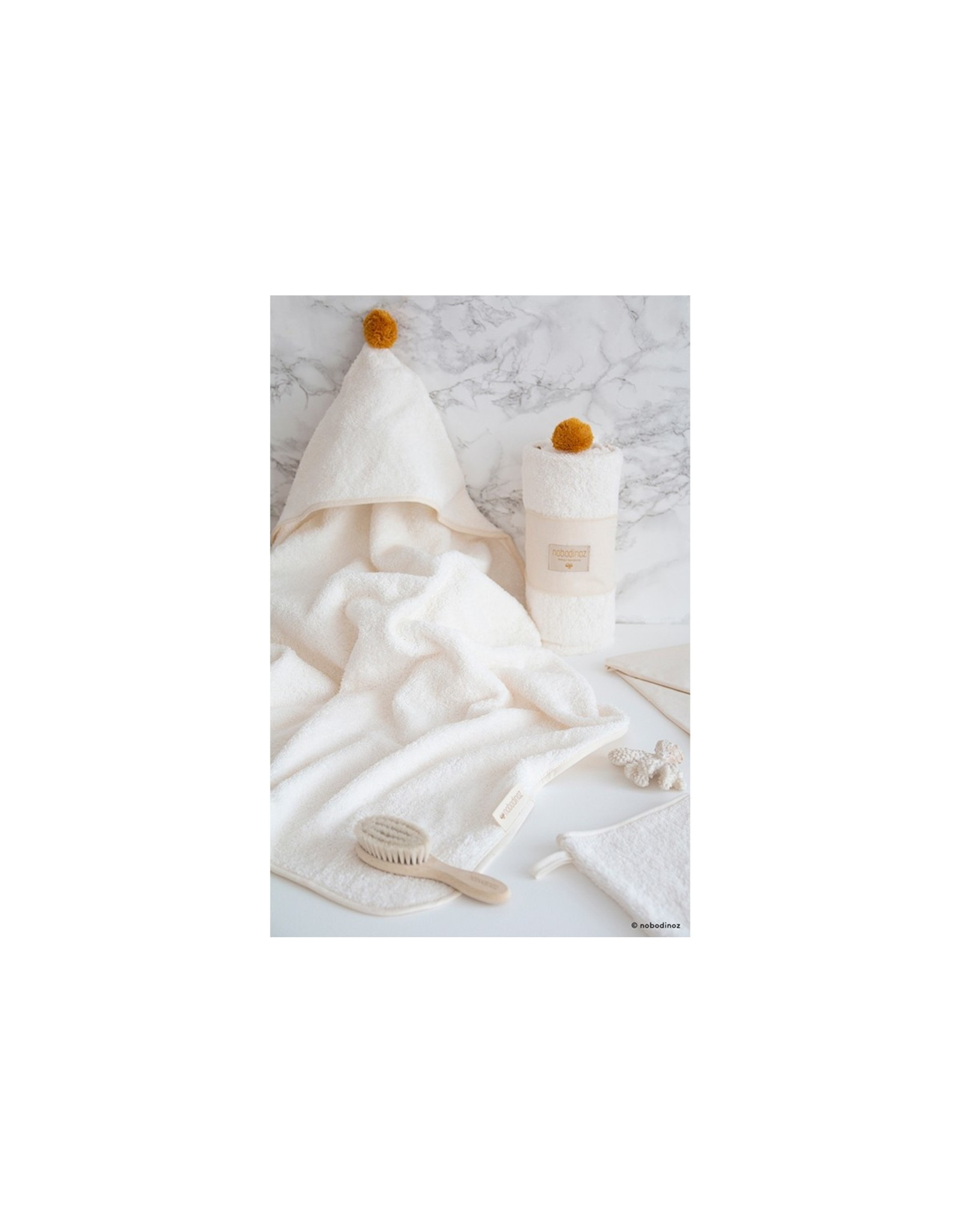 nobodinoz Set de bain bébé - So Cute - Natural