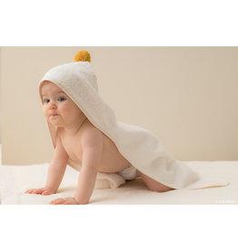 nobodinoz Cape de bain bébé - So cute  - Natural