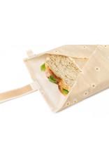 nobodinoz Wrap à sandwich éco Sunshine - daisies